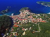 Aerial view on Parga